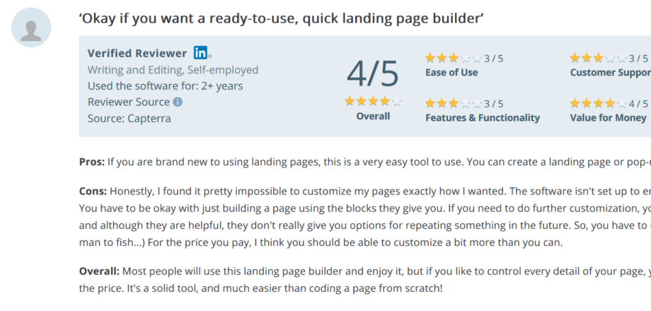Leadpages Reviews